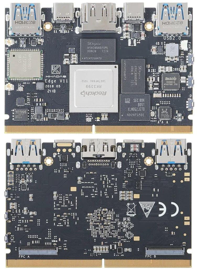 比較表] Rockchip社 RK3399搭載SBC(シングルボードコンピューター) 13