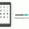 実用性高い。 DASUNG「Not-eReader」はモニターにもなるE-ink Androidタブレット