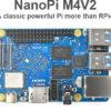 メモリをアップグレード。 FriendlyElec「NanoPi M4V2」はLPDDR4になって70ドルに
